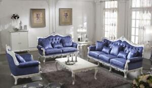 Classique-Luxe-Sofagarnitur-3-2-Set-Complet-Baroque-Rokoko-Canape-Canape-Neuf