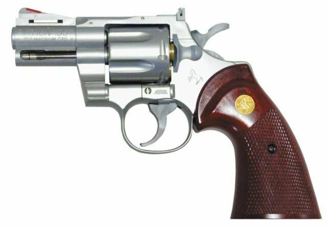 Crown model Hop-up gas revolver No.9 S/&W M686 4 inch silver model