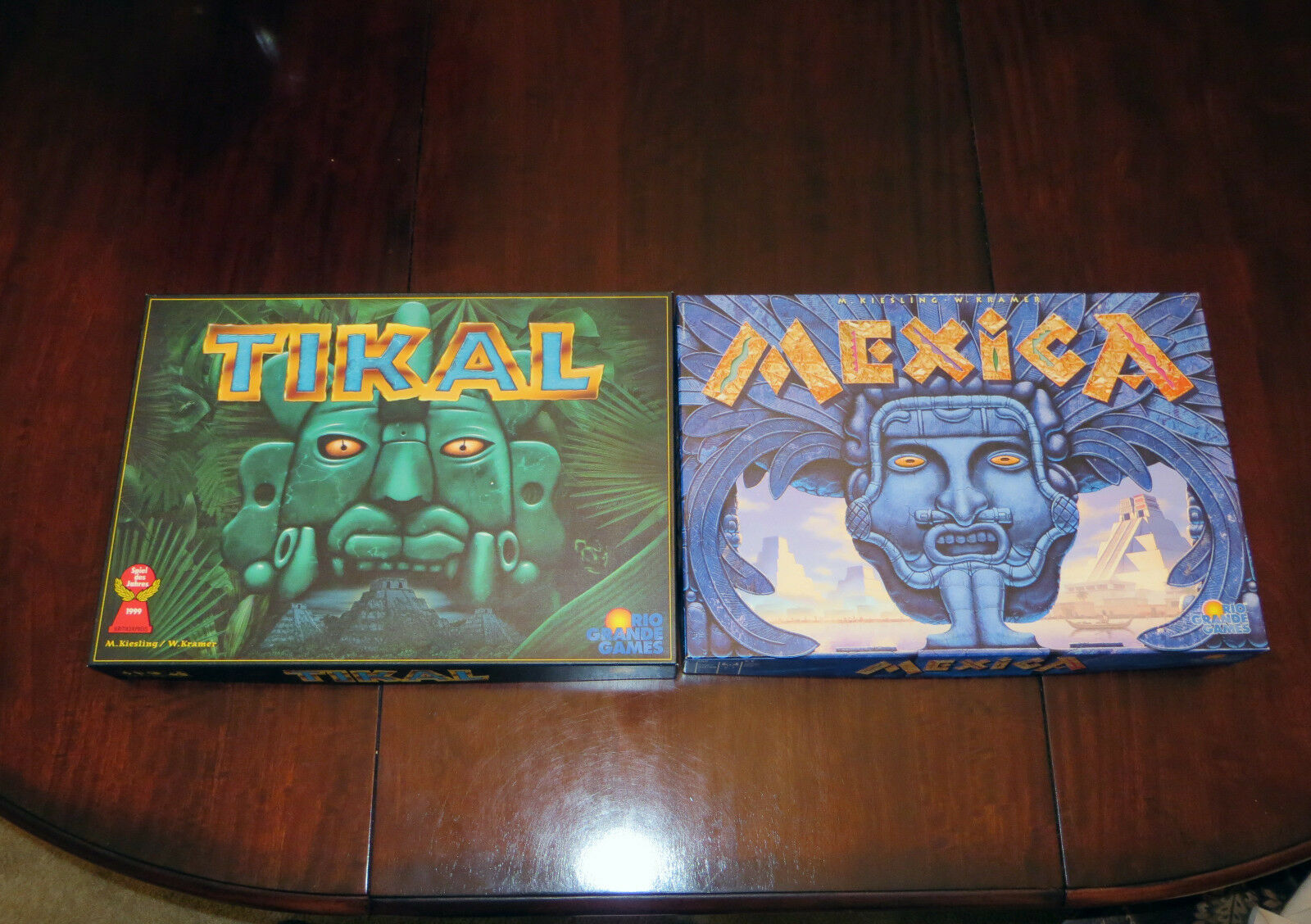 Mexica and Tikal Board Games - by by by Kiesling and Kramer - Rio Grande Games 985a2c