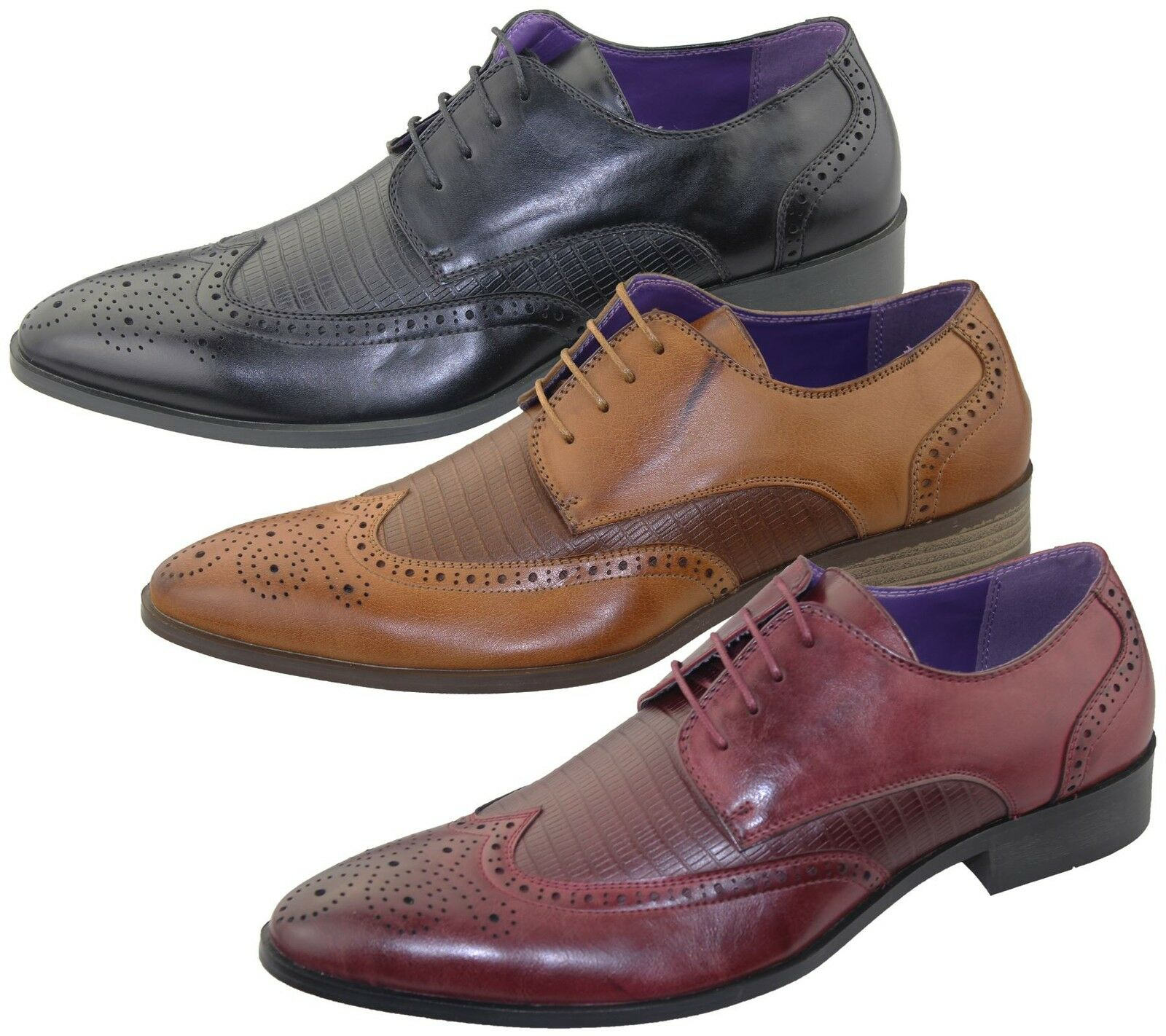 Man/Woman Mens Brogue Shoes Office Wedding Shoes Casual Formal Smart Dress Shoes Wedding New Size Exquisite (middle) workmanship a good reputation in the world Lightweight shoes GW403 c8f39f