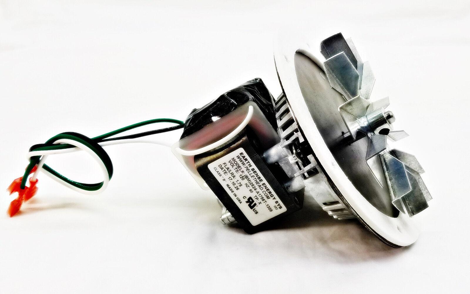 Regency GFI55, Combustion Exhaust Motor Fan + 4 3 4  - GF55-002, AMP-UNIVCOMBKIT