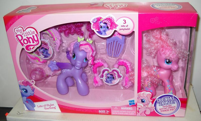 My Little Pony Lots of Styles Starsong includes Special Edition Pinkie Pie