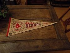 RARE Boston Red Sox World Series 1975 felt pennant banner flag champions fenway