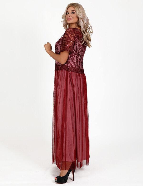 Hochwertige Kleider Abendkleid Ballkleid Partykleid Abikleid Spitze Spitze Spitze Paielletten b7b911