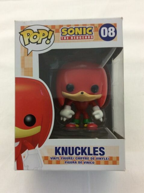Pop Sonic The Hedgehog 08 Knuckles Figure Funko 028590 For Sale Online Ebay
