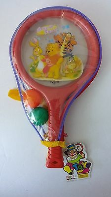 Winnie The Pooh Tigger Eyeore Rabbit Ping Pong Paddle Ball Set New Play Toy