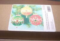 Design Works Emperors Crown Jeweled Satin Ball Ornaments Kit Makes 3 Three