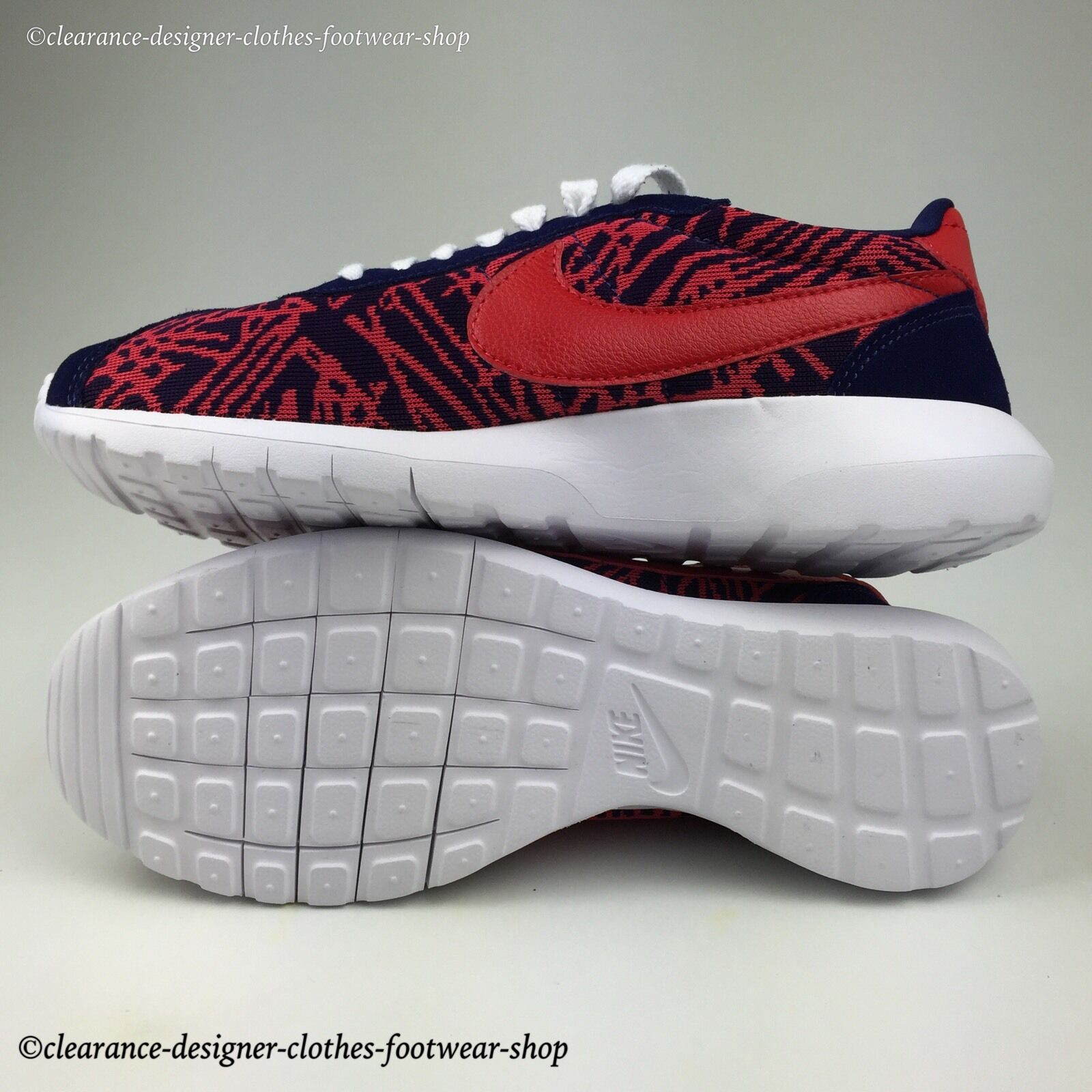 Nike roshe LD-1000 knit jacquard baskets pour femme run chaussures uk 5.5 rrp 130