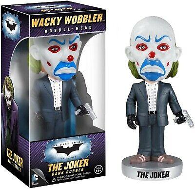 THE JOKER BANK ROBBER BATMAN The Dark Knight WACKY WOBBLER Bobble-Head