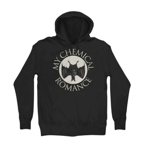 NEW My Chemical Romance /'Bat/' Pullover Hoodie