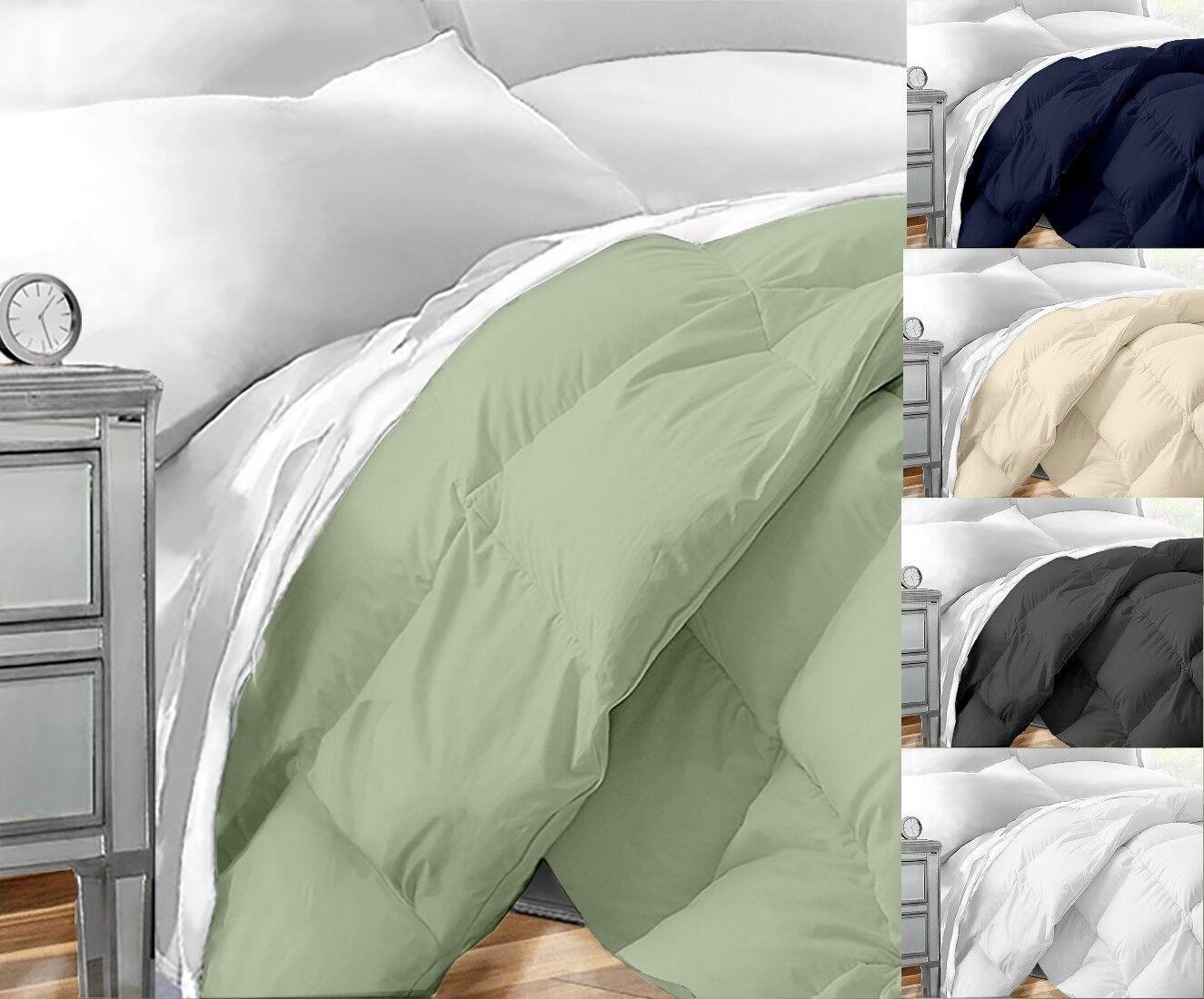 Down Alternative Comforter Hotel Quality Hypoallergenic Duvet Insert Bedding