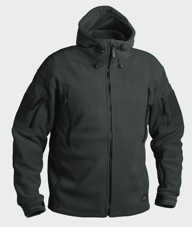 HELIKON PATRIOT HEAVY FLEECE Outdoor Outdoor Outdoor Con Cappuccio Giacca Jacket JUNGLE verde XL XLARGE 5819a4