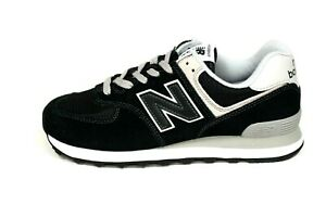 New-Balance-Men-039-s-574-EGK-Shoes-NEW-AUTHENTIC-Black-Grey-ML574EGK