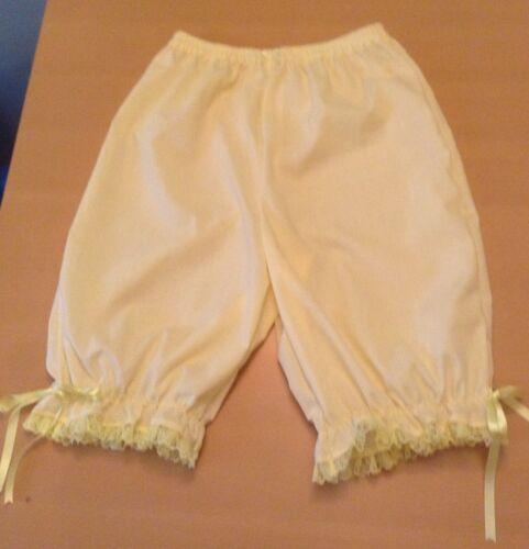Ladies short legged lemon bloomers