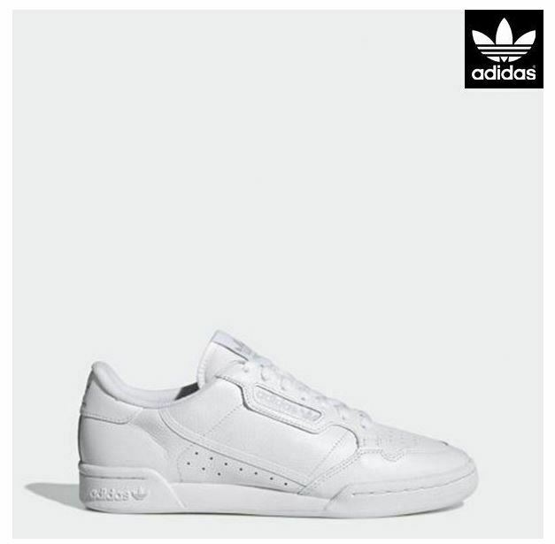 Adidas Originals Continental 80's White Fashion Sneakers,shoes CG7120 Men's