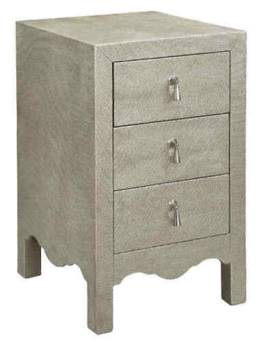 Stein World Fifth Avenue Accent Chest in Champagne Silver 75799