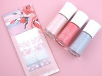 Lot Of 4 Mary Kay Into The Garden Nail Lacquer & Applique -4 Pc Set Great Gift