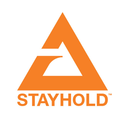 Orange 2 x Stayhold Car Cargo Boot Tidy Organiser Tool Utility Safety Straps