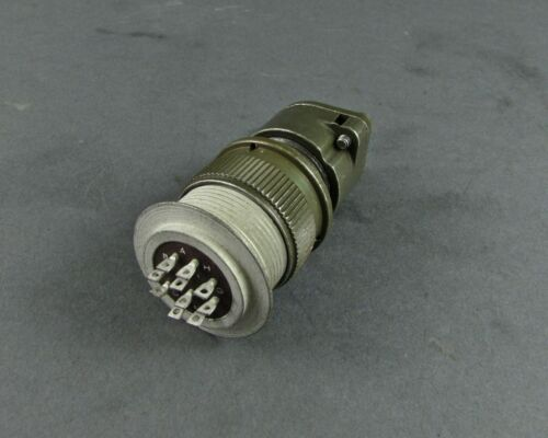 MS3106R18-1S Mated Connectors 10 Solder #16 Hermetic Receptacle /& St Plug