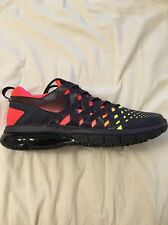 Size 16 NIKE Men FINGERTRAP MAX AMP 644672 506 Black Purple Yellow Punch