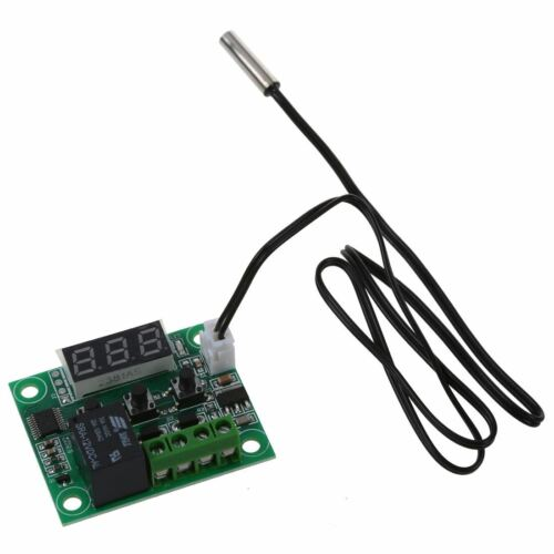 DC 12V Regler Thermostat Thermo Temperaturschalter Sensor 50-110°C DE E4L L7F7
