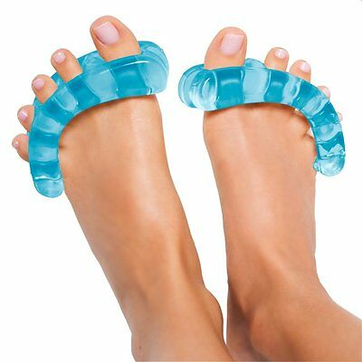 NEW  Pair gel Toe Stretchers feet toes relieve pain yoga relax stretch