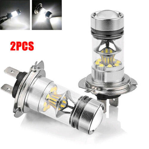 Super Bright White H7 100W CREE LED Fog DRL Driving Car Head Light Lamp Bulbs