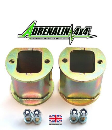 """4/"""" inch lift spring spacers Land Rover Discovery 2 TD5 V8 98-04 front only"""