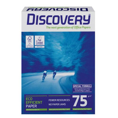Kopierpapier weiß 25000 BL Discovery 75g Hochleistungs A4 Druckerpapier Papier