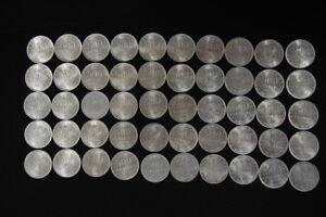 Kaiserreich Inflationszeit 50 x 500 Mark 1923 a prfr