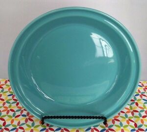 Image is loading Fiestaware-Turquoise-Deep-Dish-Pie-Baker-Blue-Fiesta- & Fiestaware Turquoise Deep Dish Pie Baker Blue Fiesta Pie Pan | eBay