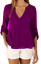 Fashion-Women-039-s-Ladies-Summer-Loose-Chiffon-Tops-Long-Sleeve-Shirt-Casual-Blouse thumbnail 5