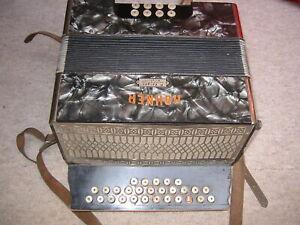 old & nice  Hohner 3 row  diatonic button accordion Club?