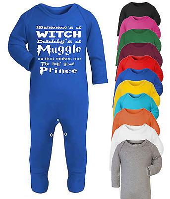 Half Blood Princess Harry Potter Inspired Baby Vest  Babygrow Baby Shower
