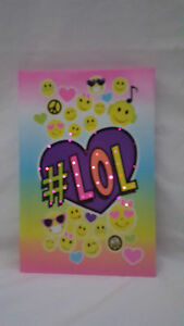 LED Kids Girls Boys Funky Flashing Lol Smiley Secret Diary Notebook Book Teen