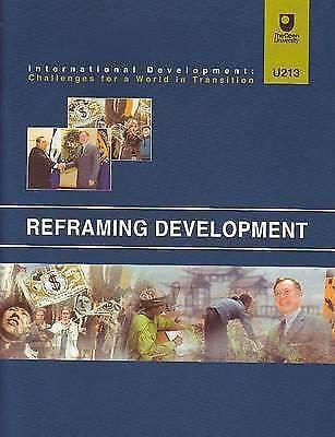 (Very Good)-Reframing Development (Paperback)-Bromley, S.-0749237961