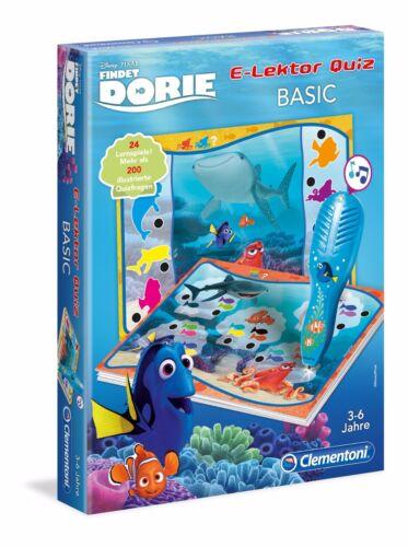 Clementoni Findet Dory Dorie E-Lektor Quiz Basic Nemo Disney Lernspiel 69493