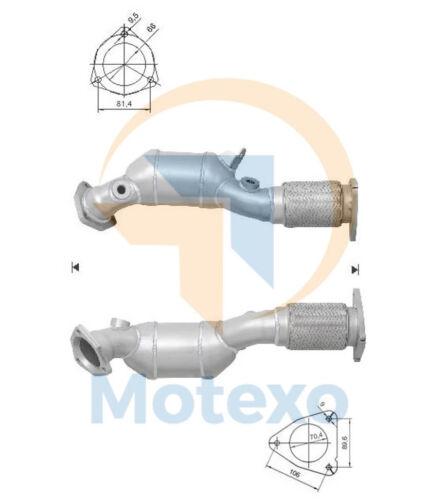 Catalytic Converter AUDI Q7 4.2i FSI V8 32V 350 bhp BAR 3//06/>5//10