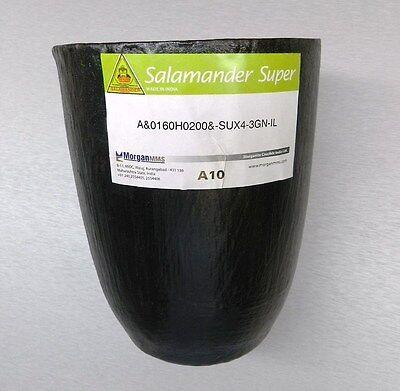 A-10 Crucible Salamander Super A10 Clay Graphite Crucible For Non Ferrous Metal