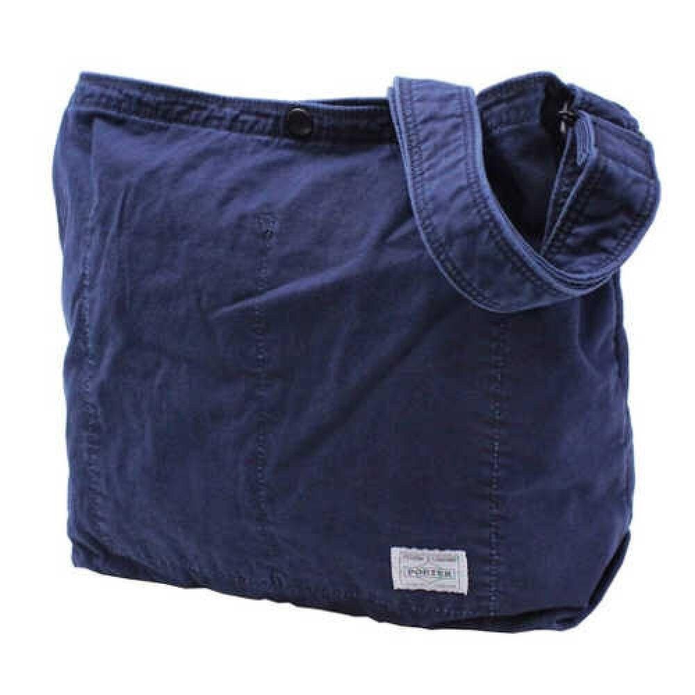 Porter Yoshida Bag 630-06523 Schultertasche Tief Blau Indigo | Hohe Sicherheit