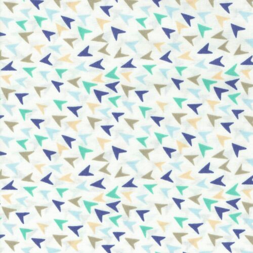 Fabric Freedom Globetrotter 100/% Cotton Fabric FQ Quilting Craft Patchwork Blue