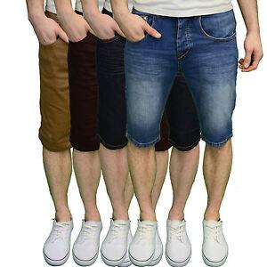 Arrested-Development-Mens-Designer-Branded-Skinny-Tapered-Denim-Shorts-BNWT
