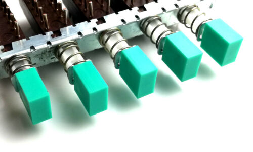 azul Interruptor de Botón Tapas para isostat verde rojo negro 20 Piezas