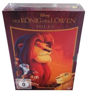 Der-Koenig-der-Loewen-Teil-1-2-3-Box-DVD-NEU-OVP-1-3-Hakuna-Matata