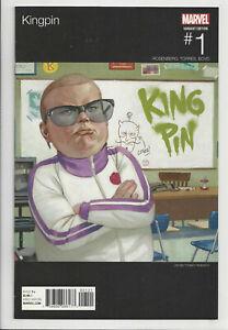 KINGPIN-1-TEDESCO-HIP-HOP-VARIANT-1st-PRINT-Daredevil-Marvel-2017-NM-NM