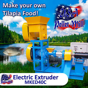 Electric-Extruder-for-Tilapia-Food-MKED40C-USA