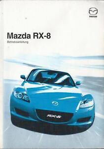 mazda rx 8 betriebsanleitung 2003 bedienungsanleitung handbuch
