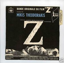 45 RPM EP OST MIKIS THEODORAKIS   Z  (1969)