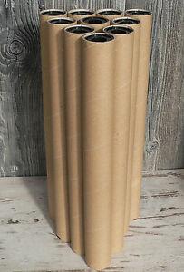 10 Papprollen 50cm Stabil Basteln Modellbau Papprohr Rohre Hamster
