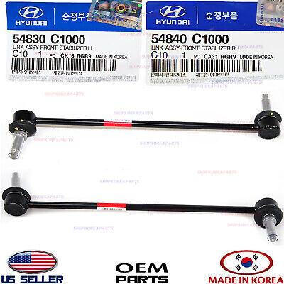 PAIR Front Sway Bar Links FITS Hyundai Sonata Azera Kia Optima Cadenza